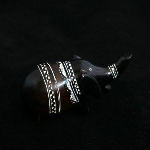 Figurina zoomorfa din piatra de talc - Elefant