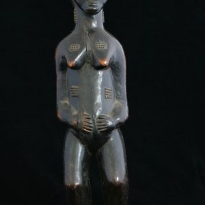 "Sculptura africana ""Femeie Baule"""