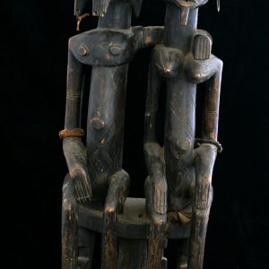 "Sculptura traditionala africana ""Cuplu Dogon"""